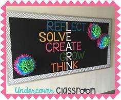 Undercover Classroom: Growth Mindset Bulletin Board
