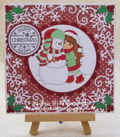 Snowball, Winter Christmas, Seasons, Crafty, Holiday Decor, Happy, Cards, Inspiration, Sweet