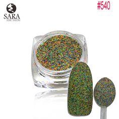 1.5g Mixed Deep Colors Sugar Nail Art Glitter Sticker Charming Dazzling Women Beauty Nails Beauty Care Decorations #534-542