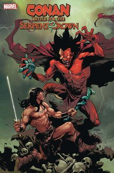 Mark Waid, Grant Morrison, Conan The Barbarian, Mephisto, Amazing Spider, Guardians Of The Galaxy, Captain Marvel, Marvel Universe, Battle
