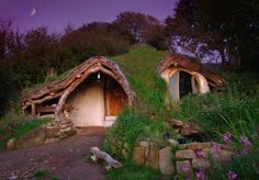 """This house in Wales gives a whole new meaning to tree house!  Click on the house to see the details.  last """"Tree house"""" on the source page."""