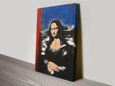 #BlekLeRatPrint #StreetArt #canvasprints #bluehorizonprints https://www.bluehorizonprints.com.au/canvas-art/street-art/Blek-Le-Rat-Print/