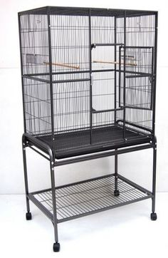 STRONG - Flight Cage - 81x54x157 cm  - Antraciet Grijs