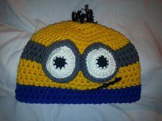 Minions, Beanie, Facebook, Hats, Fashion, Hoods, Moda, The Minions, Hat