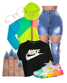 """""""5 More Days Until My Birthday"""" by sammy-pinckney ❤ liked on Polyvore featuring NIKE and The Row"""