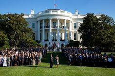 """The White House on Twitter 20150911: """"We honor those we lost. We salute all who serve to keep us safe. We stand as strong as ever."""" #911Anniversary"""