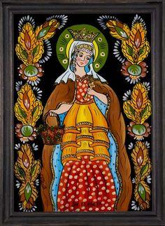 Lady Madonna, Orthodox Icons, Folklore, Glass, Painting, Google, Art, Romania, Drinkware
