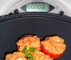 gefüllte Tomaten mit Couscous und Schafskäse von MamiMelanie auf www.rezeptwelt.de, der Thermomix ® Community