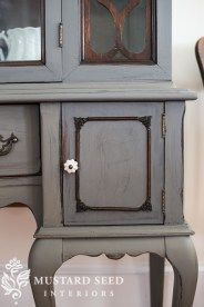 the china cabinet on my doorstep - Miss Mustard Seed