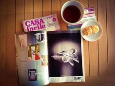Tea time making the Slamp's press review. This month, Ètoile is on CasaFacile and Home.  Have a good weekend...