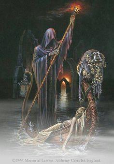 Dark Art - Gondola of the Death
