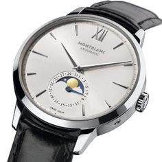 The Montblanc Meisterstück Heritage Collection Sharing the Passion for Fine Watchmaking  Montblanc Meisterstück Heritage Moonphase (See more at En: http://watchmobile7.com/articles/montblanc-meisterstuck-heritage-moonphase) (2/3) #watches #montblanc #montblancwatches @Montblanc