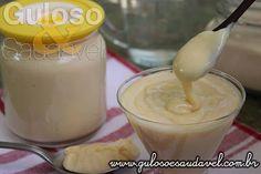 Este Leite Condensado Caseiro Diet (sem açúcar), reúne os benefícios nutricionais e o sabor do tradicional sem ter conservantes! #Receita aqui: http://www.gulosoesaudavel.com.br/2014/12/18/leite-condensado-caseiro-diet/