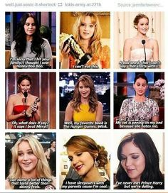 J-Law in all her glory. I adore this woman.
