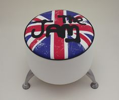 the jam union flag stool