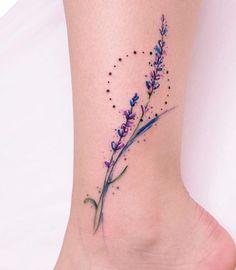 The Best Minimalist Tattoo Ideas - My Minimalist Living Mini Tattoos, Sweet Tattoos, Wrist Tattoos, Pretty Tattoos, Finger Tattoos, Body Art Tattoos, Small Tattoos, Tattos, Lilac Tattoo