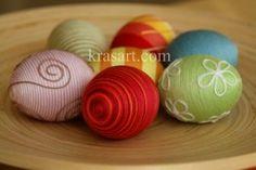 diy-decorated-yarn-easter-eggs