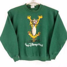 Vintage USA Made Walt Disney World Winnie The Pooh Tigger Sweatshirt Mens Large - Vintage USA Made Walt Disney World Winnie The Pooh Tigger Sweatshirt Mens Large Source by ernsthausen - Earl Sweatshirt, Graphic Sweatshirt, T Shirt, Cute Disney Outfits, Cute Outfits, Skater Outfits, Disney Clothes, Emo Outfits, Cute Sweatshirts