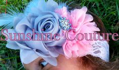Vintage Inspired Headband~Sunshine Couture