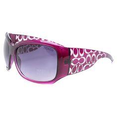 Coach Daylan Purple Sunglasses DLZ