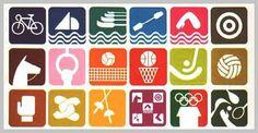 東京オリンピックの際に英語によるコミュニケーションがしづらい当時の状況であったために日本で使われ始めたのがこの「ピクトグラム」、「図記号」「絵文字」「絵単語」とか呼ばれるものです。文字や言葉のかわ
