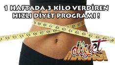 1 Haftada 3 kilo verdiren hızlı diyet programı ile zorlanmadan hızlı bir şekilde kilo verebileceksiniz ! İşte o diyet programı...