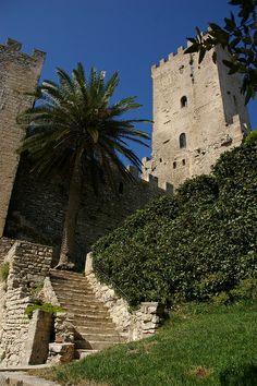 Norman castle / Venus castle Erice, Sicily, Italy