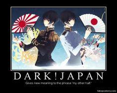 Dark Japan Motivational Poster by 0Eve.deviantart.com on @deviantART