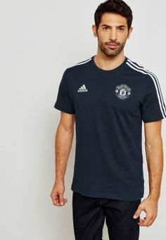 cheap for discount 62286 fbf36 adidas Manchester United 3 Stripes Tee - Soccer Shop Manchester United  Merchandise - Superfanas.lt