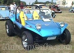 Front view, 1960 VW Beetle - Dne Buggy conversion