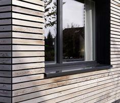 Détail bardage / fenêtre