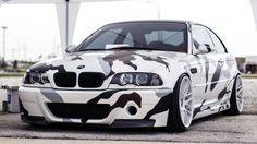 BMW M3 E46 - army color