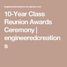 High school reunion award ideas school reunion high school and school 10 year class reunion awards ceremony yelopaper Gallery