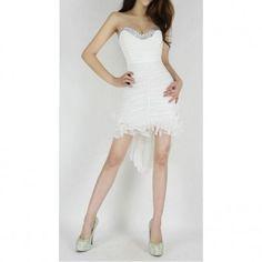 Dámské šaty bílé B-Fashion bila - http://www.luxoria.cz/damske-saty-bile-b-fashion3/