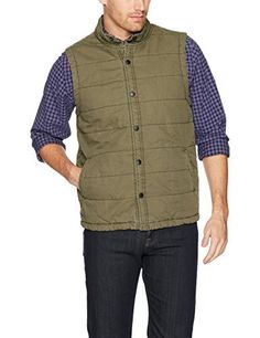 "Product review for UNIONBAY Men's Flannel Lined Canvas Vest.  Vest with canvas exterior, lined with canvas on the interior   	 		 			 				 					Famous Words of Inspiration...""When a politician is in opposition he is an expert on the means to some end; and when he is in office he is an expert on the obstacles to it.""					 				 				 					GK..."