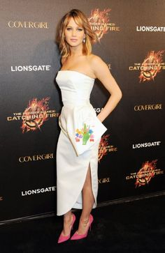 Jennifer Lawrence at event of The Hunger Games: Catching Fire (2013)