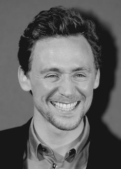 Hiddles being adorable as usual.