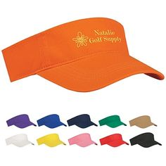 Promotional Budget Saver Non-Woven Visor #summer #advertising #promoproducts | Customized Budget Saver Non-Woven Visor | Logo Visors