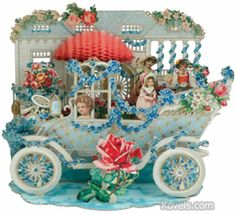 Dimensional valentine that pops out from early 1900's- I have one very similar- my Grandma used to show me these….