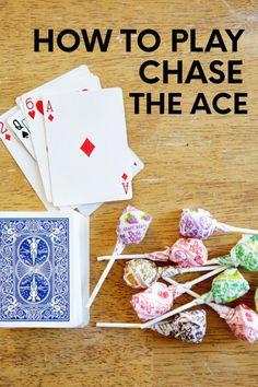 Looking for easy card games? Try out this super simple game for players called Chase the Ace. Printable instructions included below. Family Card Games, Fun Card Games, Card Games For Kids, Group Card Games, Games With Cards, Party Games For Groups, One Player Card Games, Outside Games For Kids, Easy Party Games