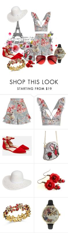 """Floral for summer in Paris"" by wickedangel ❤ liked on Polyvore featuring Zimmermann, Lafayette 148 New York, Dorothy Perkins, Anne Klein and Olivia Pratt"