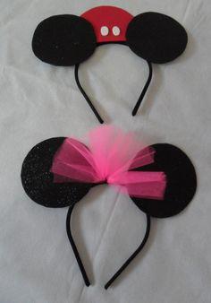Tiara Minnie & Mickey - Fashion