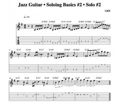 Jazz Guitar • Soloing Basics Part Two • Solo #2
