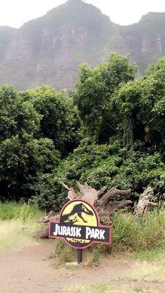 Kualoa Ranch - Jurassic Park.  Oahu, Hawaii