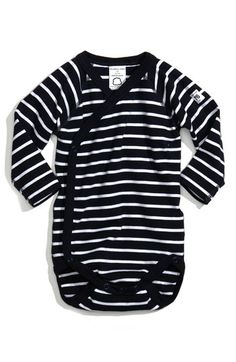 Polarn O. Pyret Stripe Wrap Bodysuit. i need this someday. so fricken cute.