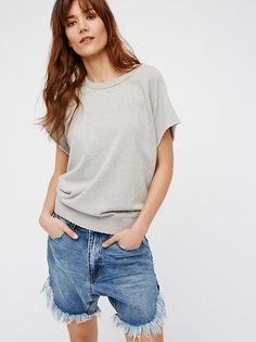 Frankies Cut-Off Shorts from Free People!
