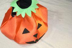 DIY Cómo hacer un DISFRAZ Halloween de CALABAZA para niños (patrón gratis)