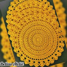 1 million+ Stunning Free Images to Use Anywhere Crochet Circles, Crochet Mandala, Crochet Art, Crochet Home, Crochet Motif, Crochet Doilies, Crochet Flowers, Vintage Crochet Patterns, Crochet Blanket Patterns