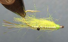 "February Fly of The Month ""Chartreuse Mini KrystalShrimp"""