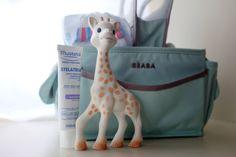 Sophie La Giraffe, Beaba nursery caddy